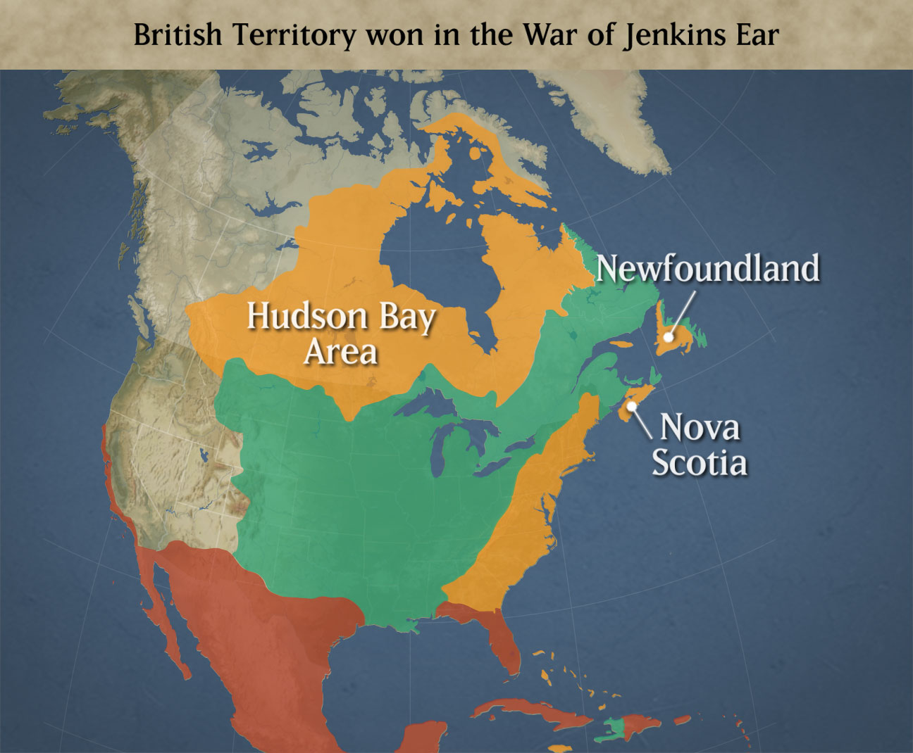 IHB July Through October US History Maps From Kappa - Map of us 1700