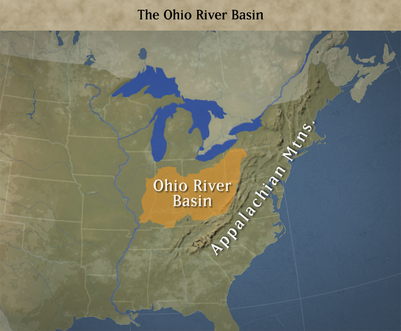 ohio river valley map illinois map